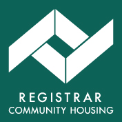 Registrar of Community Housing logo